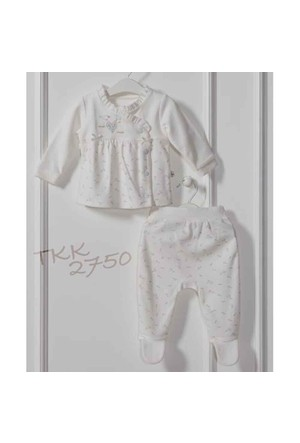 Caramell TKK2750 Kuşlu 2 li Bebek Takım