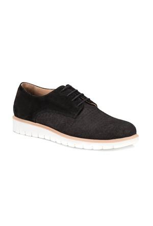 Jj-Stiller 55506-1 M 1910 Siyah Erkek Nubuk Deri Modern Ayakkabı