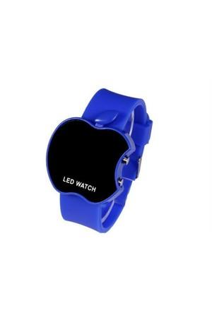 Toptancı Kapında Apple Dijital Led Bileklik Kol Saati - Mavi