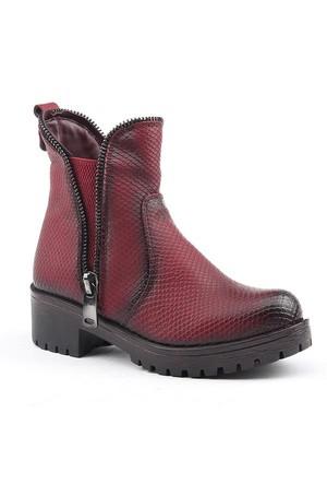 Jump 14361-F Günlük Fermuarlı Taban Termo Kadın Bot Ayakkabı