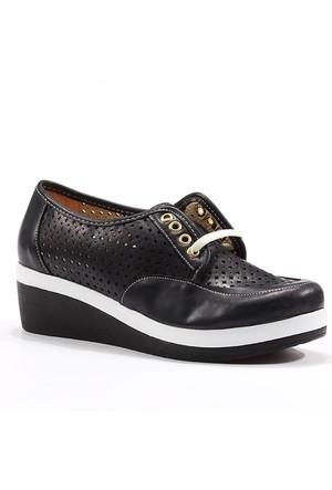 Asm Günlük Fileli Bağcıklı Kadın Spor Ayakkabı