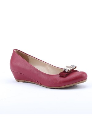 Asm 2700 Günlük 3Cm Dolgu Topuk Ortapedik Kadın Babet Ayakkabı