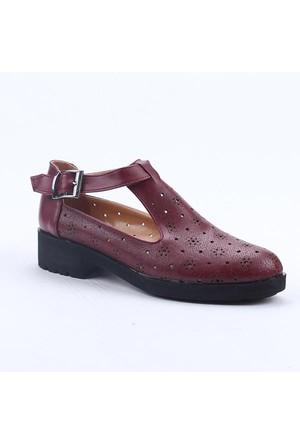 Cudo 03680 Günlük Ortopedik Topuklu Bayan Ayakkabı