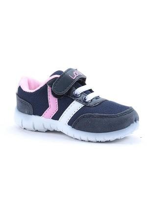 Loris 1824 Günlük Ortopedik Fileli Cırtlı Bebe Kız Spor Ayakkabı