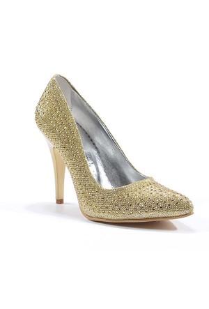 Park Moda Sivri Burun Taşlı Topuklu Kadın Ayakkabı