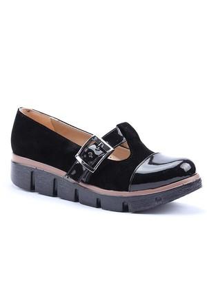 Rachel Günlük Kalın Taban Tokalı Kadın Ayakkabı