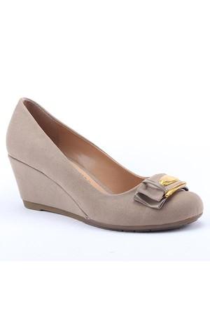 Rachel 1500 Günlük Dolgu Topuk 6Cm Kadın Ayakkabı