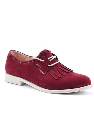 Alens Günlük Klasik Püsküllü Kadın Ayakkabı