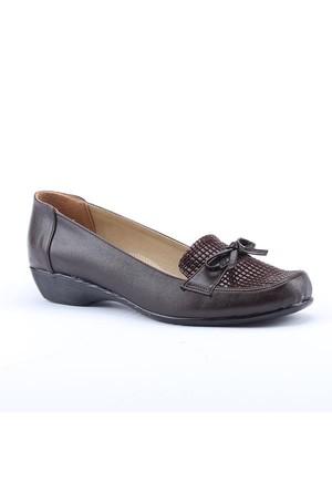 Anne Floor 1700 Günlük Ortapedik Taban Pullu Klasik Bayan Ayakkabı
