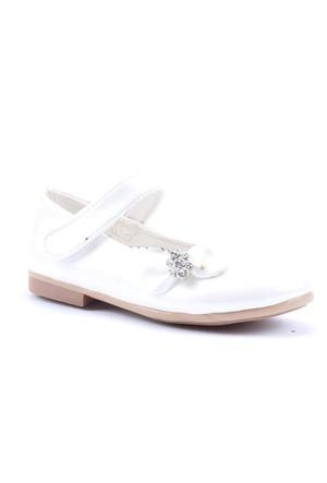 Happy Shoes Cırtlı Fiyonklu Cilt Babet