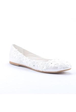Fiore 3300 Abiye Gelinlik Kadın Babet Ayakkabı