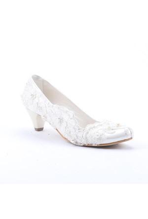 Fiore 3600 Abiye Gelinlik Stiletto Boy 5,5 Cm Kadın Topuklu Ayakkabı