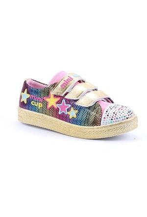 Mini Cup 1150 Günlük Yürüyüş Cırtlı Kız Çocuk Spor Ayakkabı