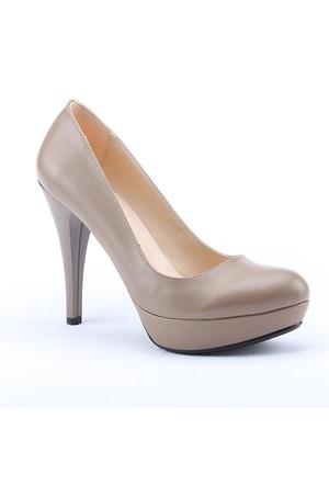 Pady 1600 Platform Topuk Rugan 11Cm Abiye Kadın Ayakkabı