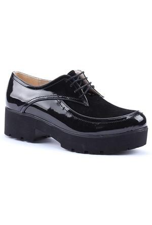Witty Günlük Kalın Taban Rugan Kadın Ayakkabı