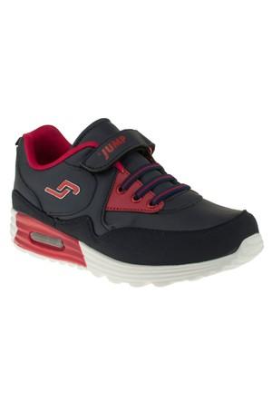 Jump 14132F Tek Cirt Lastik Bağcik Lacivert Çocuk Spor Ayakkabı