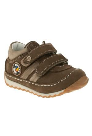 Perlina 204 Çift Cirt Kahverengi Çocuk Ayakkabı