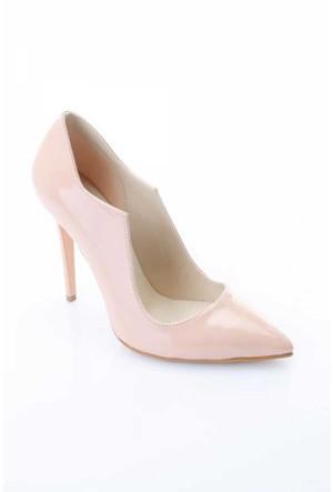 Shoes&Moda Somon (Rugan) Bayan Stiletto Ayakkabı 509-6-Nz079Ac9