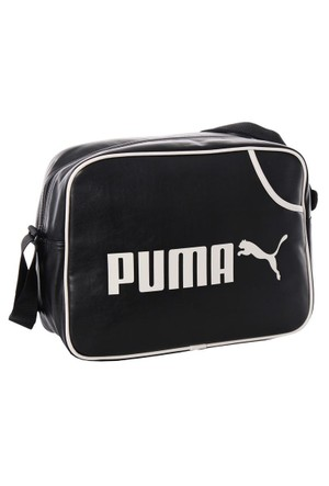 Puma 070391-01 Campus Reporter Black-Birch Kadın Çanta