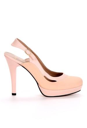 Adonna Bayan Ayakkabı - 201 Pudra (35)