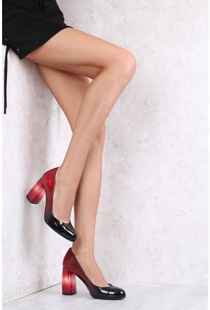 İlvi Daria 3807 Stiletto Kırmızı Degrade