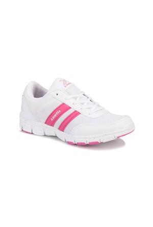 Kinetix A1282042 Beyaz Fuşya Kadın Fitness Ayakkabısı