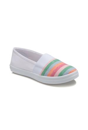Polaris 61.353838.Z Beyaz Kadın Ayakkabı