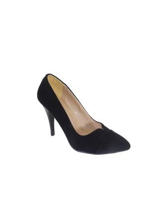 Despina Vandi Vnr 722-1 Günlük Kadın Topuklu Stiletto Süet Ayakkabı