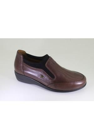 King Paolo L5660 Kadın Deri Günlük Casual Ayakkabı