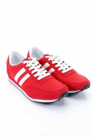 Trione Kırmızı-Beyaz Spor Ayakkabı 380-6-142249