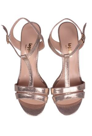 Loggalin Kadın Altın Sandalet 520004 031 621