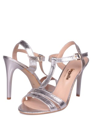 Loggalin Kadın Gümüş Sandalet 520004 031 671