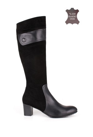 Romani Kadın Siyah Çizme 1116 022 025