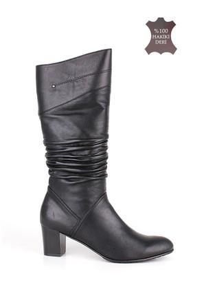 Romani Kadın Siyah Çizme 1126 022 013