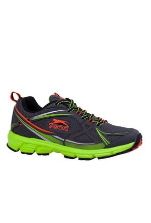 Slazenger Karto Koşu Erkek Ayakkabı Gri