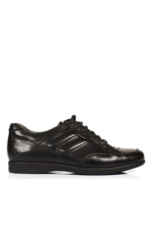 King Paolo B 34 Siyah Tam Anatomik Erkek Ayakkabı