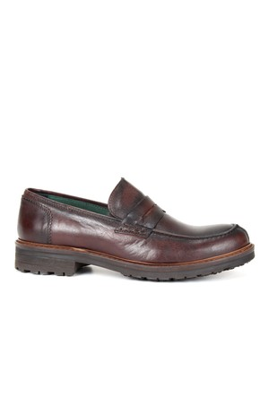 Freefoot 955 Taba Hakiki Deri Özel Tasarım Erkek Ayakkabı