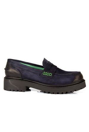 İloz 334121 Laci Hakiki Deri Loafer Tarz Bayan Ayakkabı