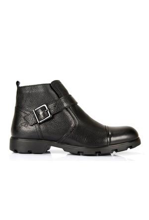 Freefoot 5518 Siyah Hakiki Deri Garantili Kışlık Erkek Bot