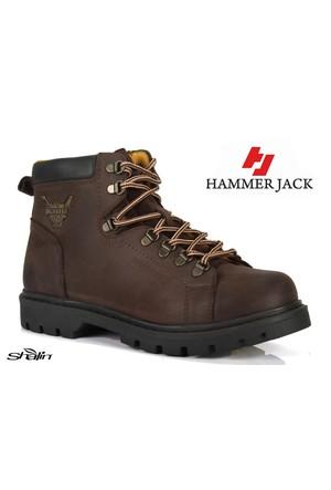 Hammer Jack 16505 Kahve Hakiki Deri Erkek Bot