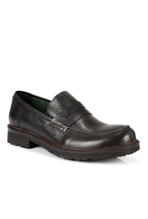 Freefoot 955 Siyah Hakiki Deri Özel Tasarım Erkek Ayakkabı