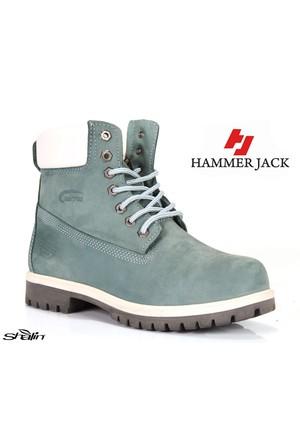 Hammer Jack 1101 Kot Mavi %100 Deri Erkek Bot