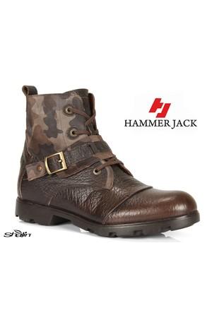 Hammer Jack 15120 Kahve Hakiki Deri Erkek Bot