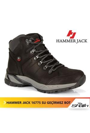 Hammer Jack 16775 Siyah %100 Deri Kadın Bot