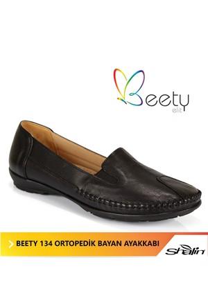 Beety 134 Siyah Ortopedik Bayan Ayakkabı