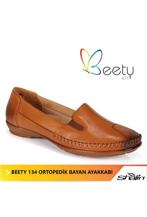 Beety 134 Taba Ortopedik Bayan Ayakkabı