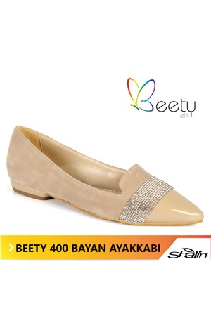 Beety 400 Ten Kuşağı Taşlı Bayan Babet