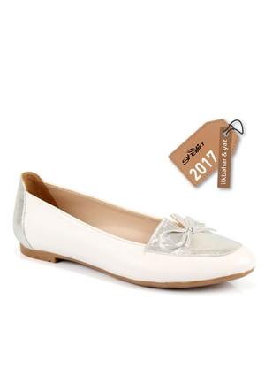 Beety 4030 Beyaz Bayan Babet