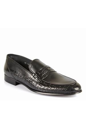 Hammer Jack Hmr 42660 Siyah Hakiki Deri Erkek Ayakkabı