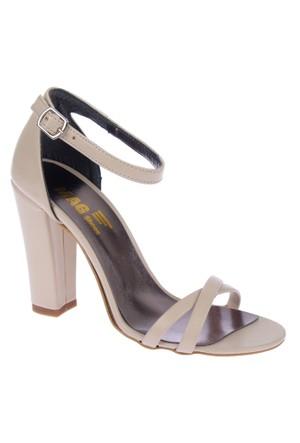 Shalin Rita Bej Bayan Topuklu Sandalet